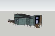 Modern Style House Plan - 3 Beds 1 Baths 1065 Sq/Ft Plan #909-7