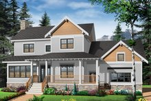 Home Plan - Farmhouse Exterior - Front Elevation Plan #23-2651