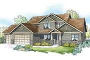 Craftsman Style House Plan - 5 Beds 3.5 Baths 3017 Sq/Ft Plan #124-1212
