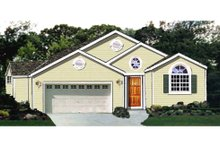 Dream House Plan - Traditional Exterior - Front Elevation Plan #3-134