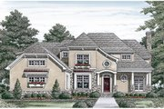 Craftsman Style House Plan - 4 Beds 4.5 Baths 3680 Sq/Ft Plan #453-14 Exterior - Other Elevation