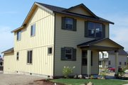 Traditional Style House Plan - 3 Beds 2.5 Baths 1432 Sq/Ft Plan #895-5 Exterior - Other Elevation