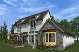 Traditional Exterior - Outdoor Living Plan #933-3