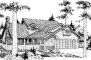 Bungalow Style House Plan - 3 Beds 2.5 Baths 1734 Sq/Ft Plan #303-296
