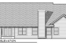 Dream House Plan - Traditional Exterior - Rear Elevation Plan #70-703