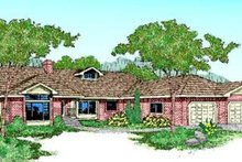 Traditional Exterior - Front Elevation Plan #60-220