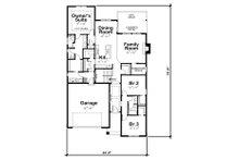 Ranch Floor Plan - Main Floor Plan Plan #20-2298