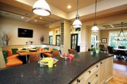 European Style House Plan - 4 Beds 3.5 Baths 4347 Sq/Ft Plan #928-178 Interior - Kitchen