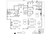 Traditional Style House Plan - 4 Beds 4 Baths 5692 Sq/Ft Plan #451-29 Floor Plan - Main Floor Plan
