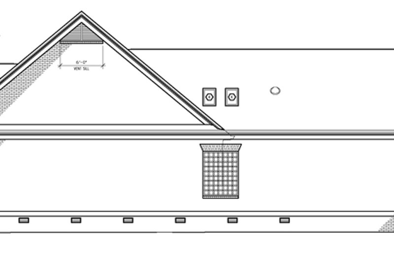 Classical Exterior - Other Elevation Plan #1054-7 - Houseplans.com
