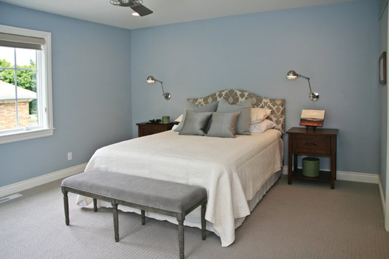 Tudor Interior - Bedroom Plan #928-257 - Houseplans.com