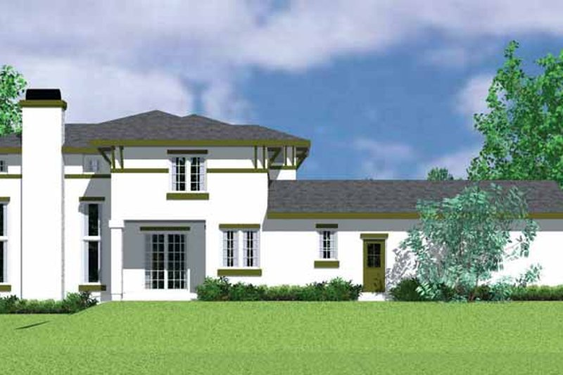 Prairie Exterior - Other Elevation Plan #72-1120 - Houseplans.com