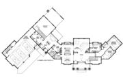 Craftsman Style House Plan - 5 Beds 4 Baths 5026 Sq/Ft Plan #928-292 Floor Plan - Main Floor Plan