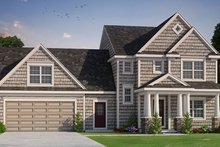 Home Plan - Colonial Exterior - Front Elevation Plan #20-2248