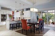Mediterranean Style House Plan - 3 Beds 4.5 Baths 3394 Sq/Ft Plan #930-457 Interior - Dining Room