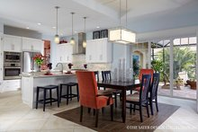 Dream House Plan - Mediterranean Interior - Dining Room Plan #930-457