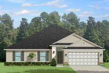 Dream House Plan - Traditional Exterior - Front Elevation Plan #1058-120