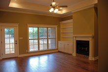 Dream House Plan - Traditional Interior - Family Room Plan #430-57