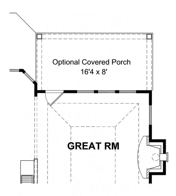 Colonial Floor Plan - Other Floor Plan Plan #316-280