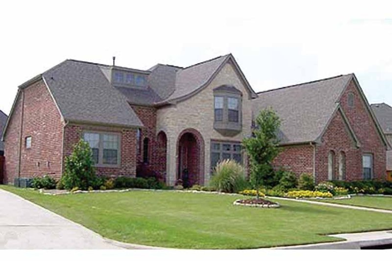 Home Plan - Tudor Exterior - Front Elevation Plan #84-717