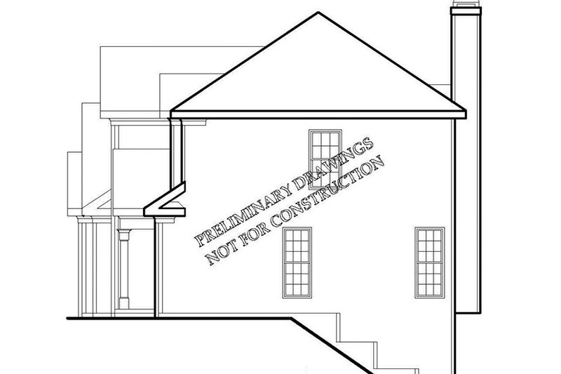 Traditional Exterior - Other Elevation Plan #927-717 - Houseplans.com