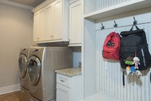 Architectural House Design - Laundry/Mudroom