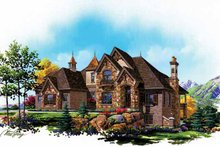 House Plan Design - Country Exterior - Front Elevation Plan #945-79