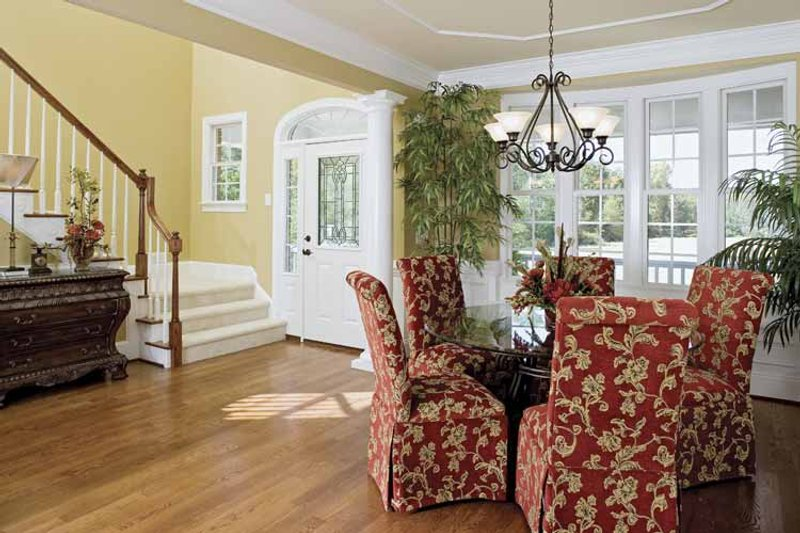Country Interior - Dining Room Plan #929-657 - Houseplans.com