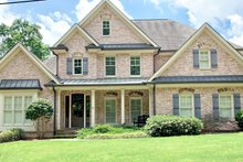 House Plan Design - Traditional Exterior - Front Elevation Plan #437-118