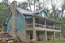 Home Plan - Craftsman Exterior - Rear Elevation Plan #314-283