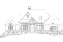 Architectural House Design - European Exterior - Front Elevation Plan #929-893