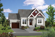 Traditional Style House Plan - 2 Beds 1 Baths 896 Sq/Ft Plan #25-4321 Exterior - Front Elevation