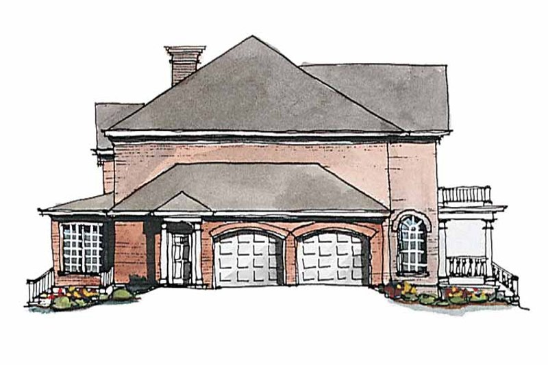 Classical Exterior - Other Elevation Plan #429-189 - Houseplans.com