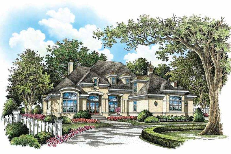 Dream House Plan - European Exterior - Front Elevation Plan #929-890