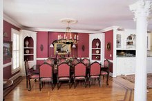 Colonial Interior - Dining Room Plan #54-184
