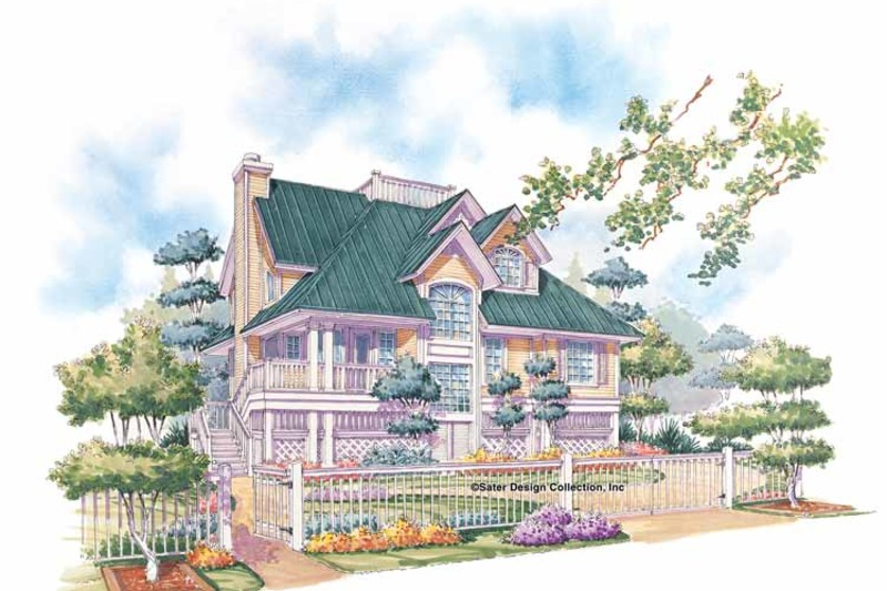 Country Exterior - Front Elevation Plan #930-48 - Houseplans.com