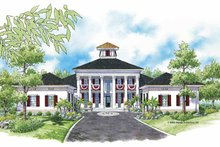 Dream House Plan - Southern Exterior - Front Elevation Plan #930-354