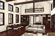 Cabin Style House Plan - 3 Beds 2 Baths 2197 Sq/Ft Plan #497-47 Interior - Other