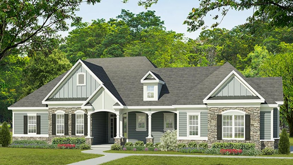 Ranch style house plan 3 beds 2 5 baths 2333 sq ft plan for Weinmaster house plans