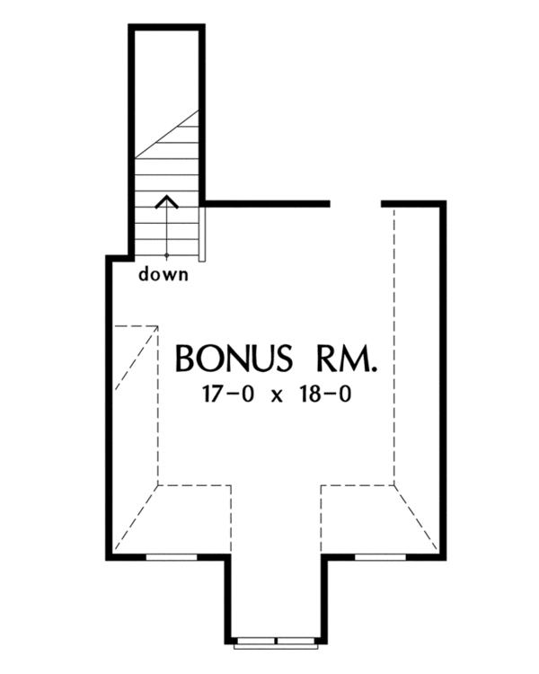 European Floor Plan - Other Floor Plan Plan #929-913