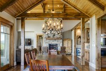 Ranch Interior - Dining Room Plan #929-655
