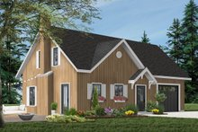 Cottage Exterior - Front Elevation Plan #23-2146