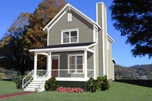 Home Plan - Colonial Exterior - Front Elevation Plan #79-133