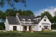 Country Style House Plan - 4 Beds 2.5 Baths 1897 Sq/Ft Plan #923-131 Exterior - Other Elevation