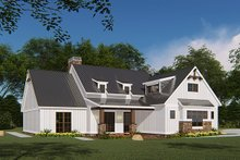 House Plan Design - Country Exterior - Other Elevation Plan #923-131