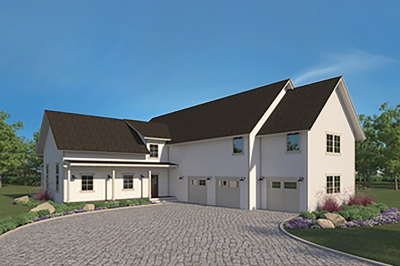 House Plan Design - Farmhouse Exterior - Front Elevation Plan #1068-2