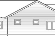 Craftsman Style House Plan - 3 Beds 2 Baths 1596 Sq/Ft Plan #895-40 Exterior - Other Elevation