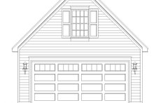 Country Exterior - Front Elevation Plan #932-194