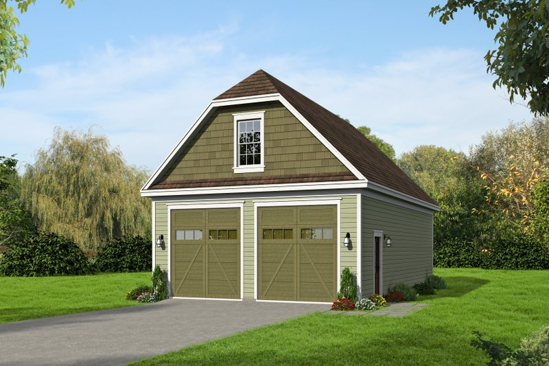 Dream House Plan - Country Exterior - Front Elevation Plan #932-368