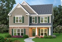 Home Plan - Traditional Exterior - Front Elevation Plan #419-256